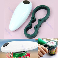Cheap Free Shipping Electric One Touch Auto Can Jar Tin Opener Open Tool Hands