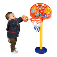 Cheap Children basketball indoor basketball can lift basketball baby basketball belt toy children gift children toy