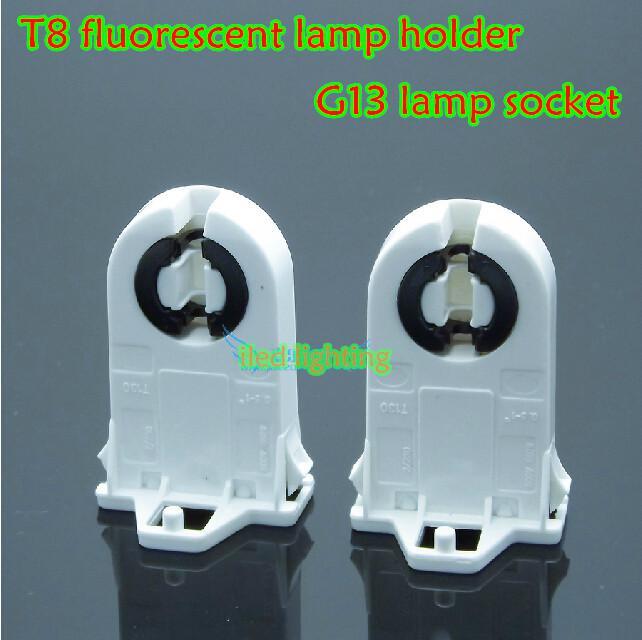 in stock t8 fluorescent lamp holder g13 lamp socket ul. Black Bedroom Furniture Sets. Home Design Ideas