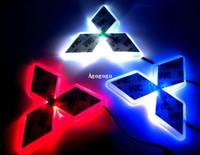 auto lamp mitsubishi lancer - Car Logo Light For Mitsubishi Lancer Lioncei Car Styling Badge Lightings Auto Emblem Led Lamp