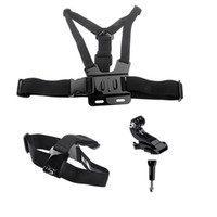 Wholesale New Black B Type Chest Strap B Type Head Strap J Type Bracket Screw for Gopro ST Gopro Accessories W0072A
