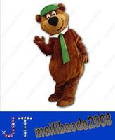 bear theme - Yogi Bear Mascot costume custom fancy costume anime kits mascot cartoon theme fancy dress carnival costume HSA0743