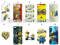 Wholesale 2013 hot new design Despicable Me hard cases back cover for ipod touch