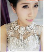 Cheap The bride luxury suite wedding dresses, wedding jewelry diamond domineering epaulets crystal diamond shoulder chain