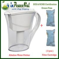 Wholesale 2 LITER Alkaline Water Pitcher Alkaline Water Jug with filter cartridge Pitcher