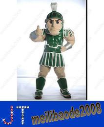 Wholesale Mascot City Spartan trojan knight mascot costume custom fancy costume kits mascot fancy dress carnival costume HSA0744