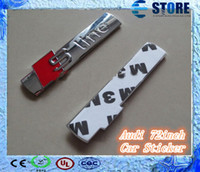 Wholesale sline badge car decal emblem stickers gloss Audi inch A4 S4 RS4 A6 TT A3 S3 silver J