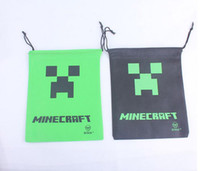 Wholesale Minecraft bag Draw String Bag Gift bag Good Quality cm x cm