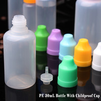 plastic bottles - Hot sale LDPE plastic bottles with dropper empty e cig liquid bottle ml eye dropper bottle with safety cap from China supplier