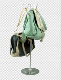 Free shipping best selling Women bags Adjustable handbag rack display Handbag display stand tabletop bag