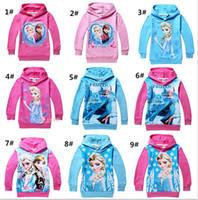 Cheap Frozen Long Sleeves Best Frozen Princess Hood