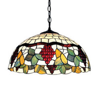 Cheap Incandescent Stained Glass Lamp Best 110V Suspended Pendant Lamp