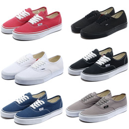 Wholesale Mens Van Classic Casual Canvas Shoes Trainer Athletic Sneakers Lace up UK6