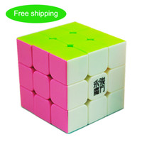Wholesale YJ YULONG x3x3 color rubik s cube without stickers Feel is smooth