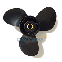 outboard motors - Oversee Aluminium Propeller for Suzuki HP Marine Outboard Spare Engine Parts Motor size x13