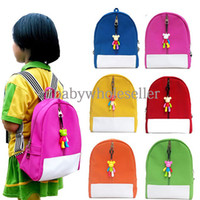 Cheap 2014 New Arrival Autumn Korean Style Baby Backpack Man-made PU Candy Color Kids Bag For Infant Children Bookbag BA40830-1