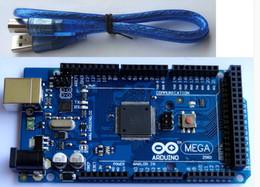 Wholesale Arduino Mega R3 Rev development board with free USB cable