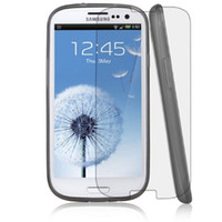 Wholesale D H LCD screen protector to protect the toughened glass film galaxy S5 S4 s3 iPhone Factory Price