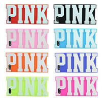 Wholesale New Fashion D Silicone Case for iPhone s iphone S PINK Silicone Cover Case