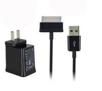 Wholesale AC HOME WALL CHARGER Power ADAPTER USB CABLE CORD for SAMSUNG GALAXY TAB P5200 P3200 T310 Lite T110 Tab T530 T330 T230