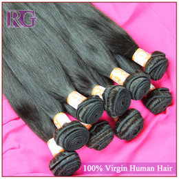 Factory Price 5A grade Brazilian Malaysian Indian Peruvian Virgin hair 100% unprocessed Straight virgin hair extension free shipping