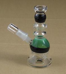 Wholesale 4 inch mini glass mm oil Rigs w ax WYK MINI