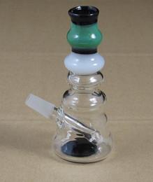 Wholesale 4 inch mini glass dabbing bong mm oil Rigs w ax WYK MINI