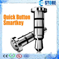 Wholesale Smart Key Quick Button With Compatible APP for Andriod Smartphone Klick Preesy Ikey Smart Phone Dustproof Plug mm Smartkey M
