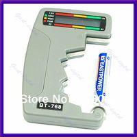 Cheap A25Free Shipping Digital Battery Tester Checker LED Monitor C D 1.5V 9V