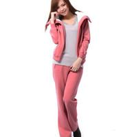 Wholesale Berber Fleece Hoodie Set Winter Sport Suit For Women Solid Color Sweatshirts With Zipper Long Sleeve Sportswear long sport
