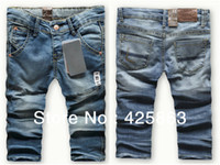 Wholesale cotton denim boys jeans Girl s New Style Pants kids Trousers for years Children jeans