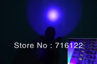 Cheap NEWEST Ultrafire 501B 3W purple light Ultraviolet Luxeon 395-410nm UV LED Flashlight LED TORCH