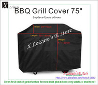 Wholesale Large size Water proofed BBQ grill cover quot cm with ribbons
