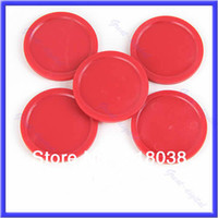 Wholesale A25 Red Air Hockey Table Mini Puck mm quot Puck Children Arcade Game