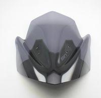 Wholesale black Motorcycle Windshield WindScreen For kawasaki ER N ER650 Double Bubble