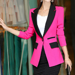 Wholesale Spring Hot sSlling Blazer Women Solid Color Office Ladies Blazer Fashion Slim Fit Women Blazer Long Sleeve Coat Colors