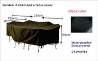 Wholesale garden chair and table cover outdoor furniture cover water proofed cover for outdoor furniture