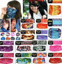 Wholesale PromotionTop Fashion Multifunctional scarf Outdoor Cycling Seamless bandana Magic multifunctional Turban Sunscreen Hot Hair band Hot Selling