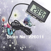 Wholesale 1 Digital LCD Thermometer For Aquarium Freezer H155