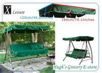 Wholesale Canopy replacement for garden swing chair dark green canopy x120cm garden swing chair and bed canopy replacement