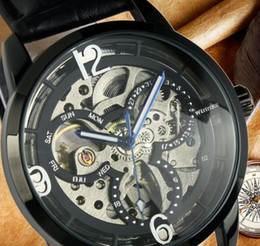 Top sell WINNER fashion men watches high quality Skeleton Mens Automatic Watch wrist watch for men WN11