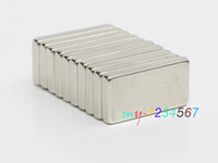 Wholesale 10pcs Strong Block x10x3mm N35 Cuboid Rare Earth Permanent Nd Fe B Magnets