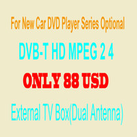 Wholesale Digital TV Box DVB T HD MPEG Format For Our Car DVD Player Optional With Dual Antenna Sell With Our Car DVD Only