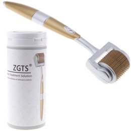 Wholesale ZGTS mm mm mm Derma Needle Skin Roller Microneedle Cellulite Anti Aging Age Pores Refine Dermatology Therapy System H10891
