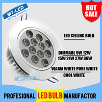 Wholesale X20 DHL Dimmable High power Led ceiling lamp W W W W W W Led Bulb V LED lighting led light spotlight down light with drive
