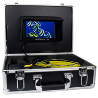 sewer pipe inspection camera - 7 quot TFT Color Sewer Pipe Inspection Snake Video Camera System GSY9200D TVL LED Regulation Waterproof Anti corrosion Fish finder W2022