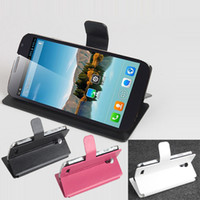 Cheap In Stock 100% Original Protective Flip Leather Case for Cubot P9 MTK6572 5.0'' Smart Mobile Phone + Free Shipping