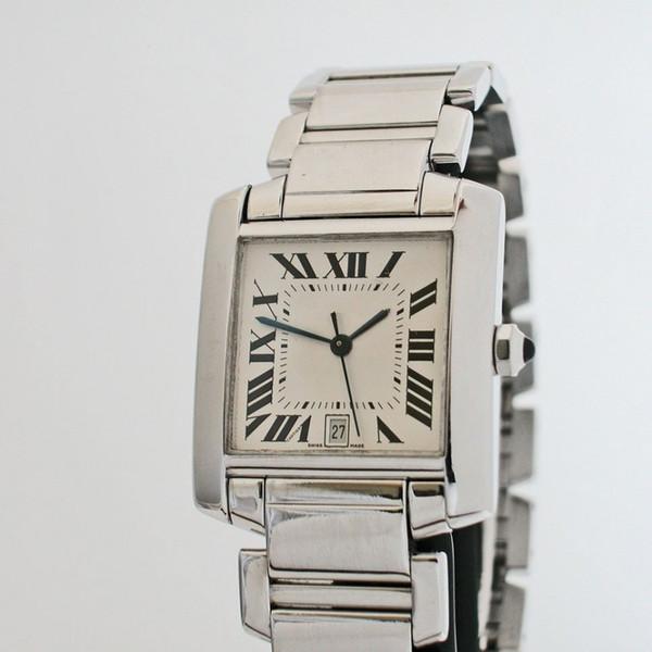 Новое прибытие бренда часы мужские Япония кварцевый сталь стиль мода CA01 фото