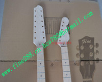 Cheap DOUBLE NECK ST ELECTRIC GUITAR free shipping stud ST Electric Guitar F-1466 semi-