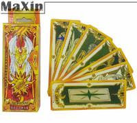 Wholesale CardCaptor Sakura Magical Clow Cards Captor Cosplay Gold set Kros Playing Game Entertainment Paper Poker Brand Set
